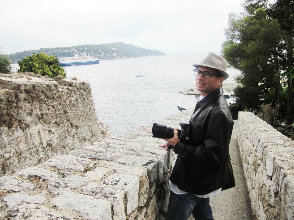 Bruce James • Shootiong in Villefranche-sur-Mer