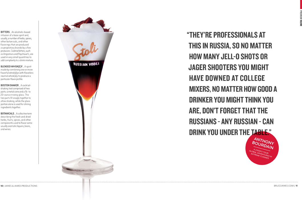 Stolichnaya Premium Vodka White Russian