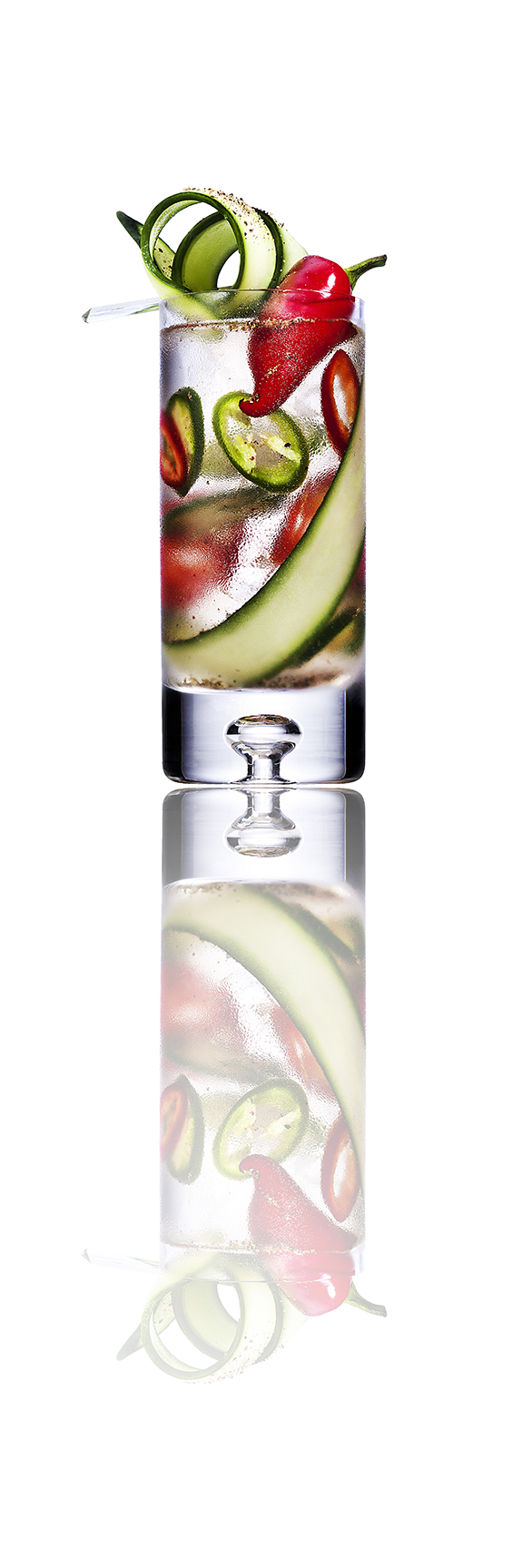 Cucumber Pepper Tequila Cocktail
