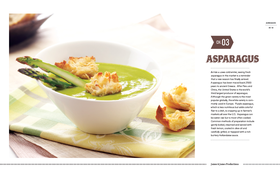 Asparagus Soup with homemade croutons