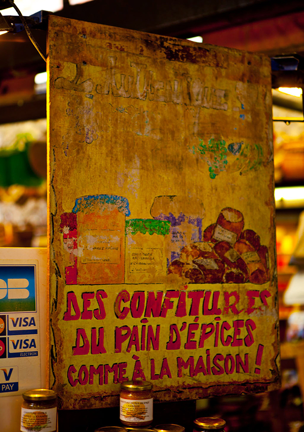 Sign • Antibes, France • Marche Provencal