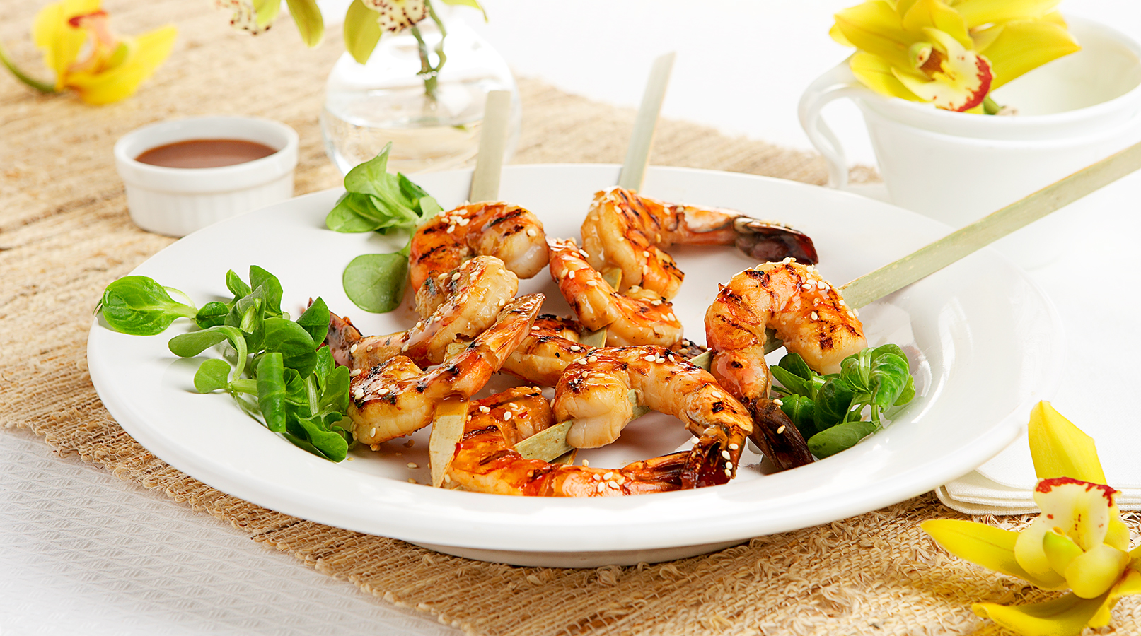 Asian Shrimp Skewers