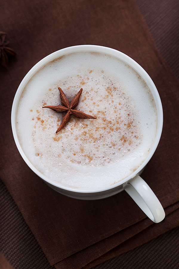 Cappuccino with Anise Star