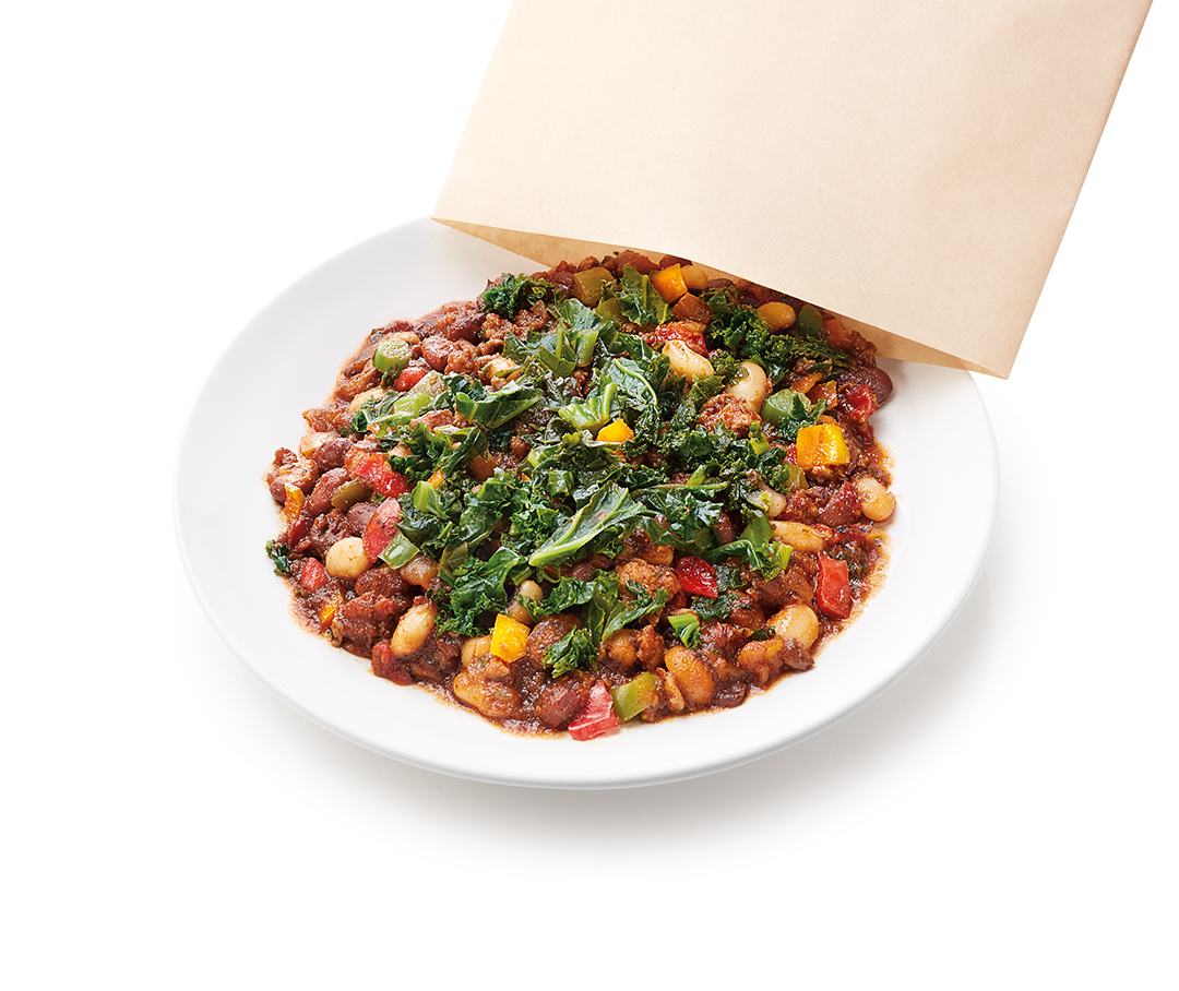 Luvo Foods • Chicken Chorizo Chili with Beans