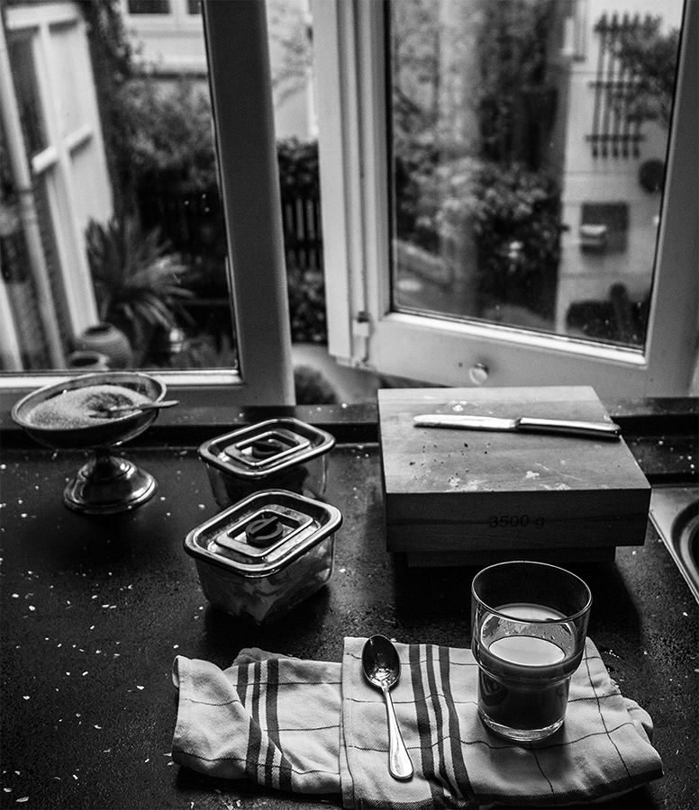 Coffee in Amsterdam Kitchen