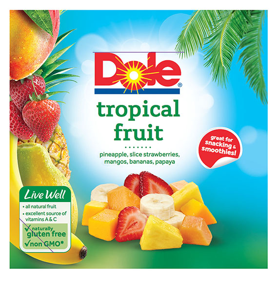 6086 Dole Raspberries Frozen 12oz 1-1
