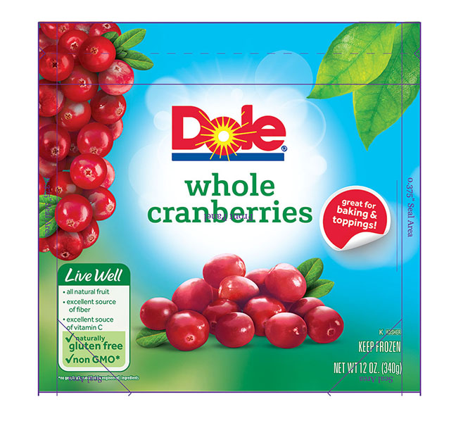 6086 Dole Sliced Strawberries Frozen 14oz 1-1