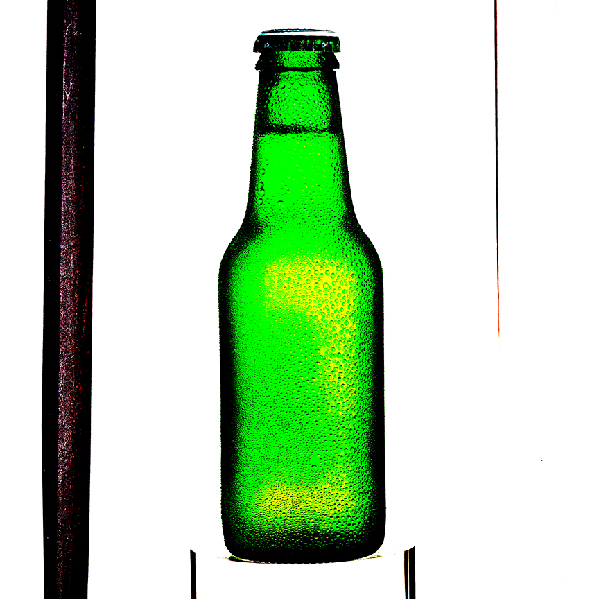 Green Beer Bottle