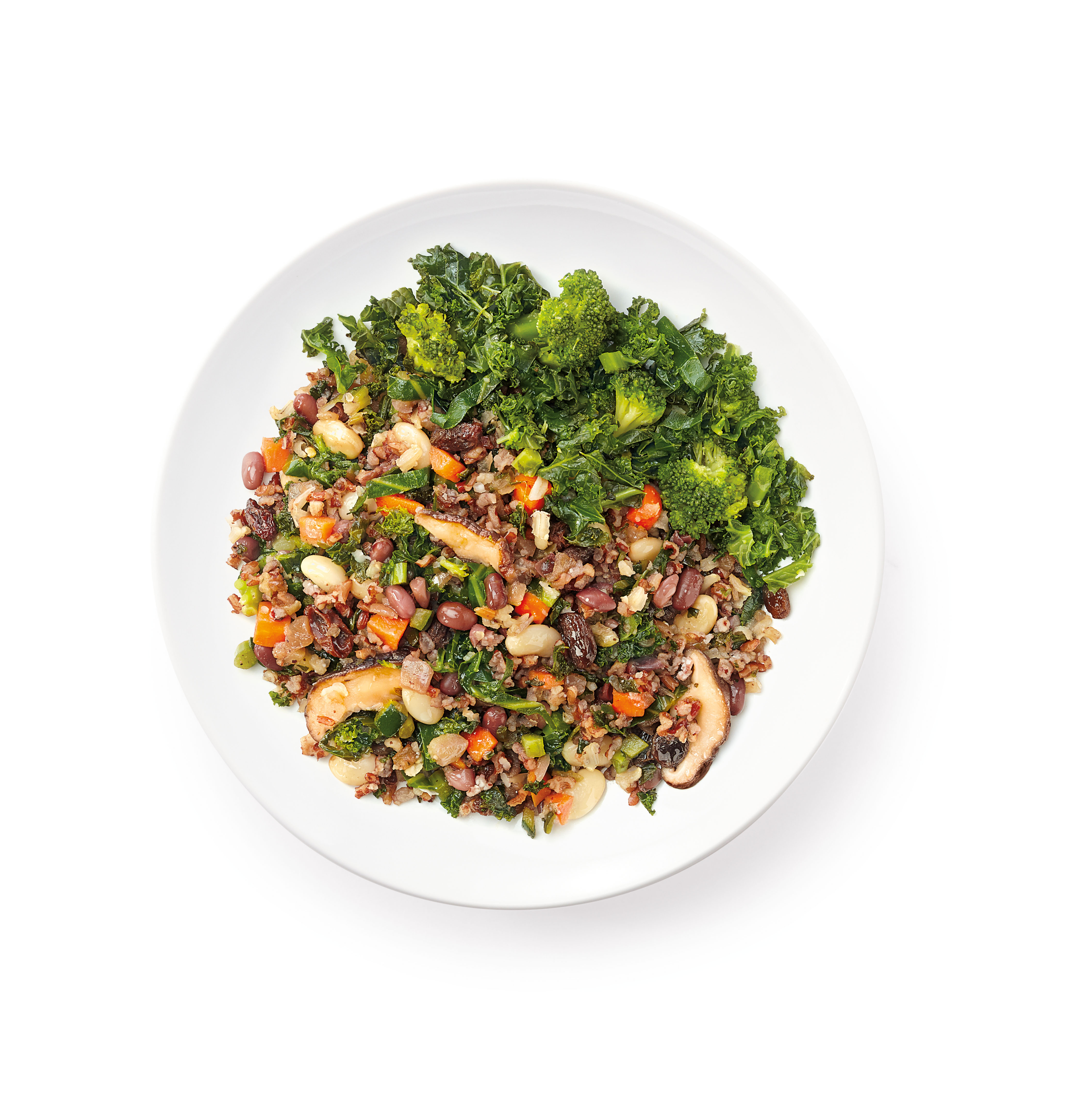 Luvo Foods • Kale Red Bean Rice Pilaf