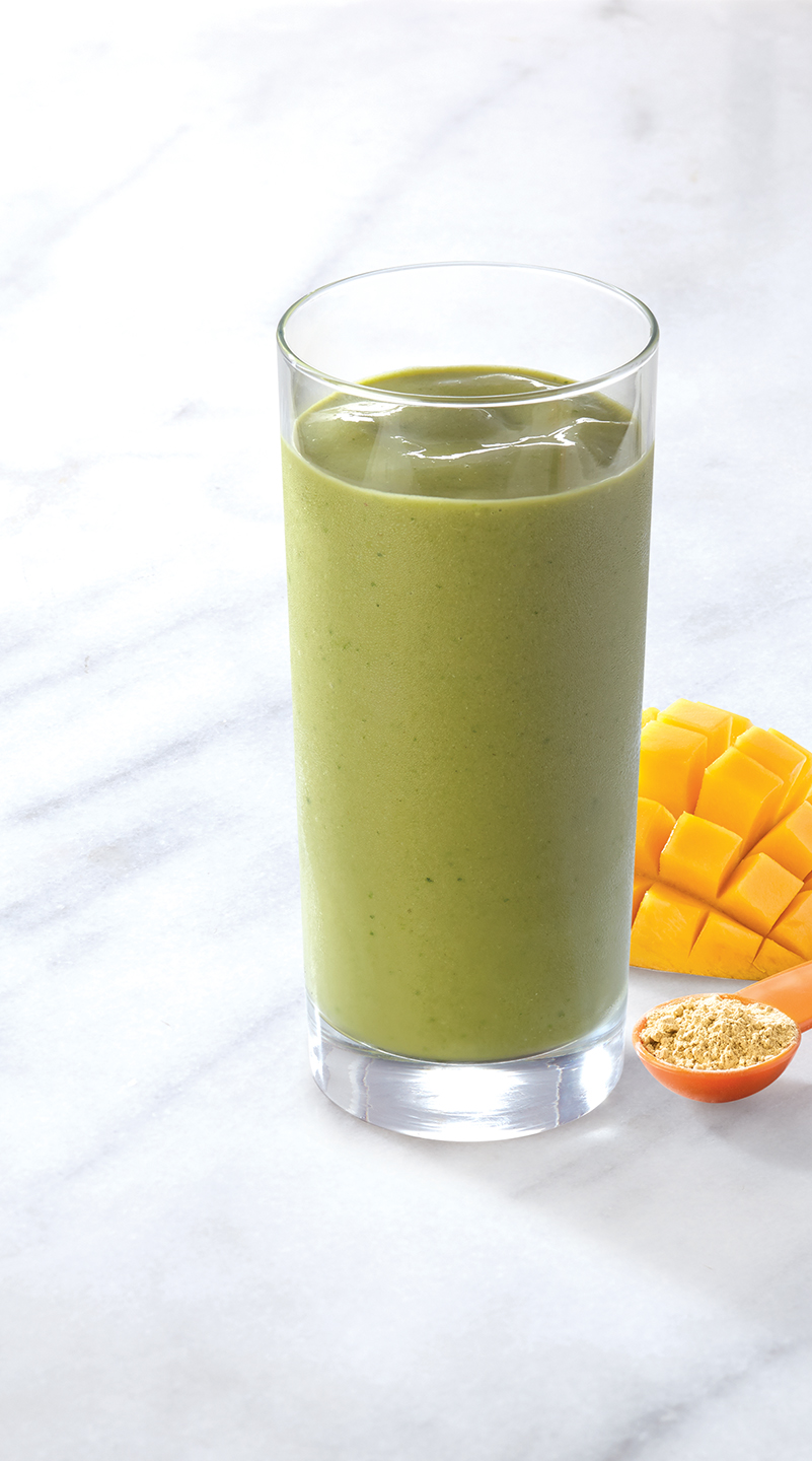 Luvo Foods • Mango Macha Smoothie