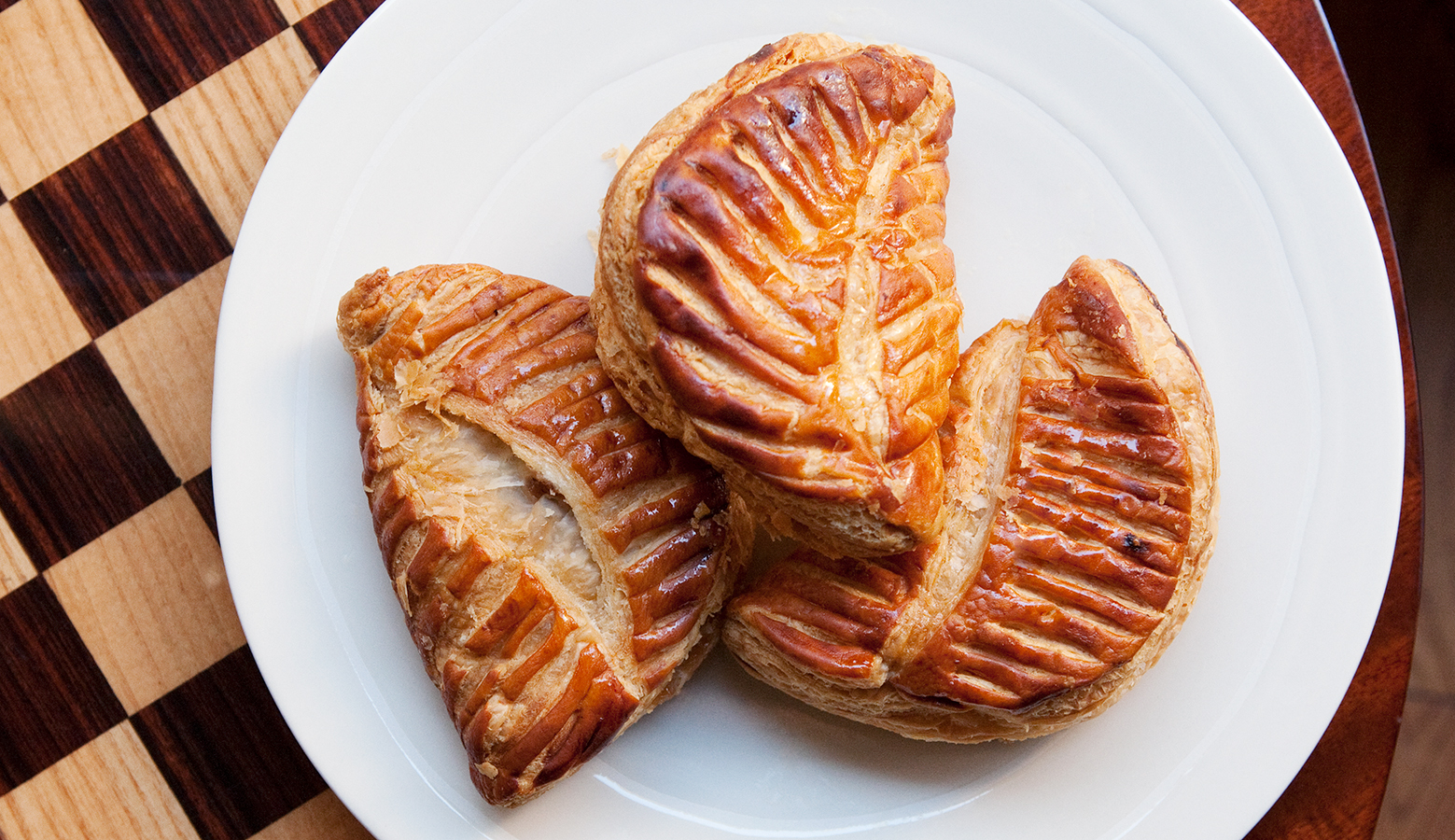 Apple Turnover Breakfast • Paris, France