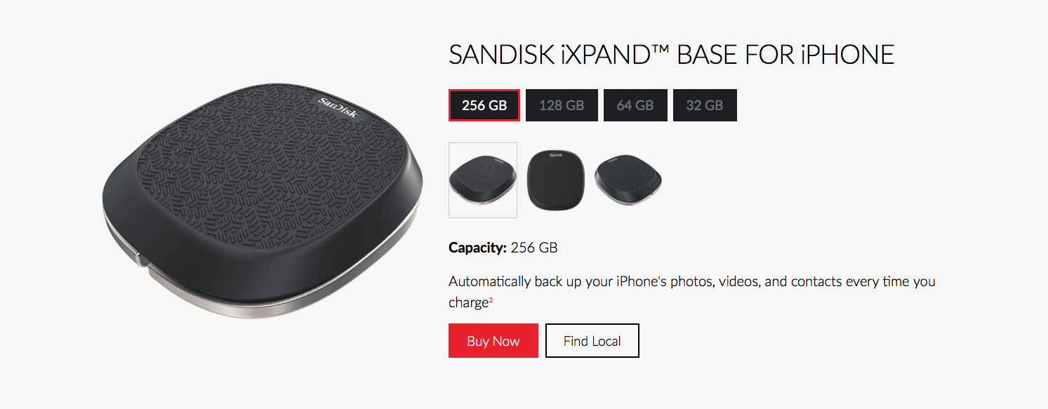 Work • Product • WD/Sandisk • Web Ad