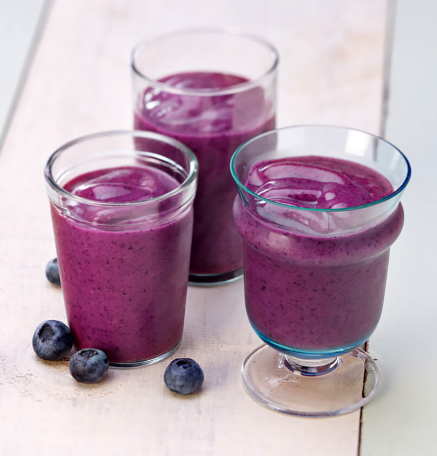 Strawberry Blueberry • Smoothie