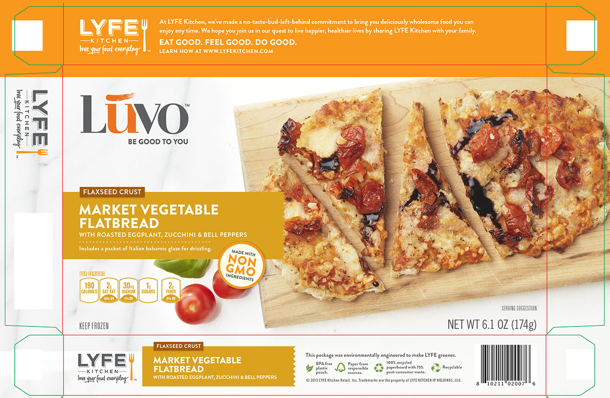 Luvo Foods • Vegetable Flat Bread