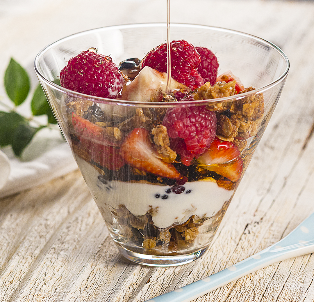 Fruit Cup with Trail Mix